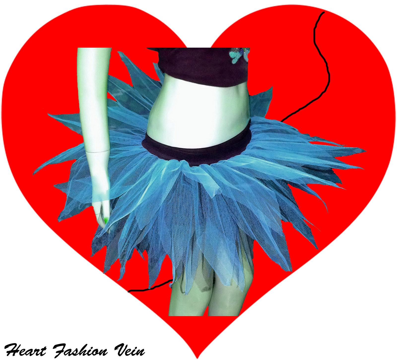 HEN PARTY BUSTLE PURPLE PINK MULTI RED NEON UV BURLESQUE TUTU SKIRTS CYBER DANCE