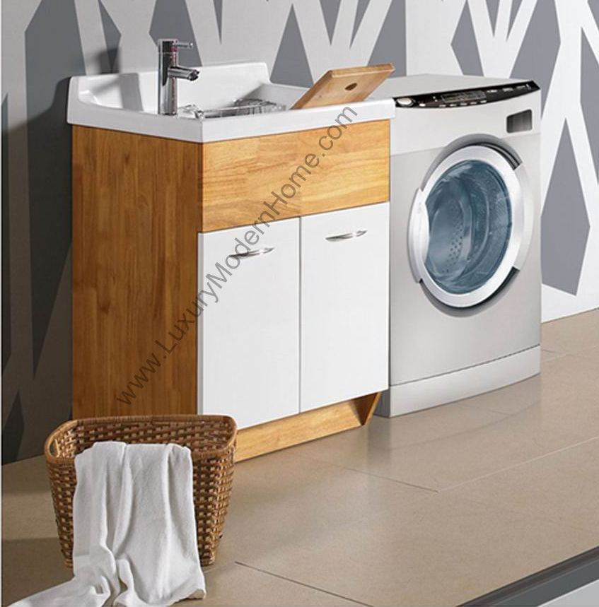 Drop In Laundry Sink For 24 Inch Cabinet : ... -modern-laundry-room-sink-utility-tub-sinks-mop-tubs-cabinet-slop.jpg